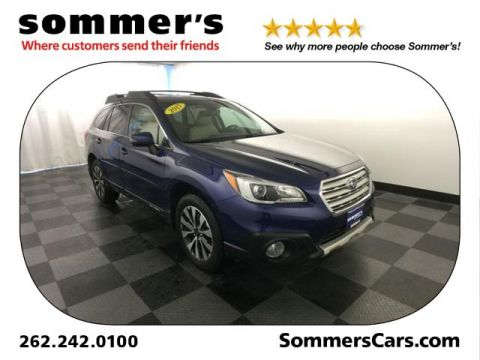 Pre-Owned 2017 Subaru Outback 2.5i Limited AWD Sport Utility