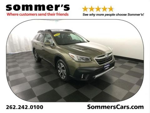 Certified Pre-Owned 2020 Subaru Outback Limited CVT AWD Sport Utility
