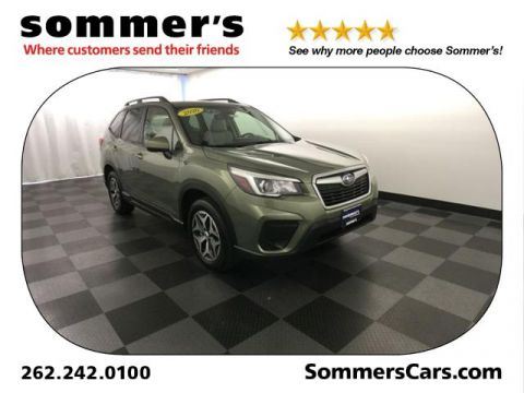 Certified Pre-Owned 2020 Subaru Forester Premium CVT AWD Sport Utility